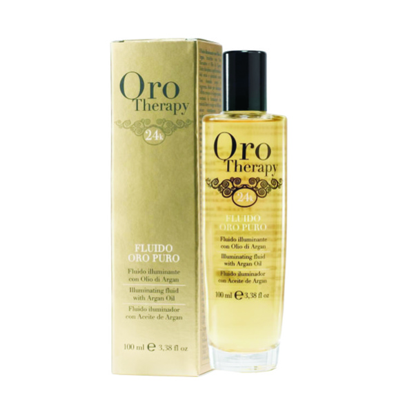 oro therapy mit argan l fluid 100ml oro therapy hair. Black Bedroom Furniture Sets. Home Design Ideas