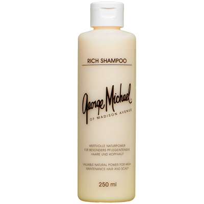 george michael rich shampoo 250ml shampoos george. Black Bedroom Furniture Sets. Home Design Ideas