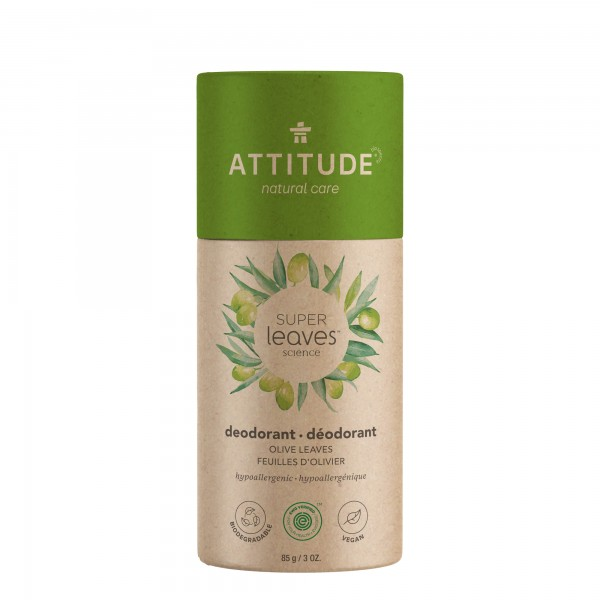 ATTITUDE Super Leaves Deodorant - olive leaves 85g