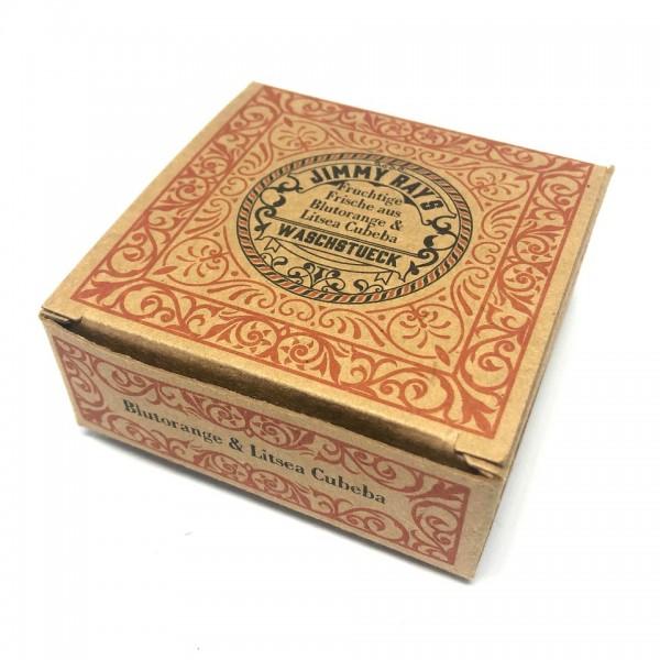 Jimmy Ray's Waschstueck 95g, Blutorange & Litsea Cubeba