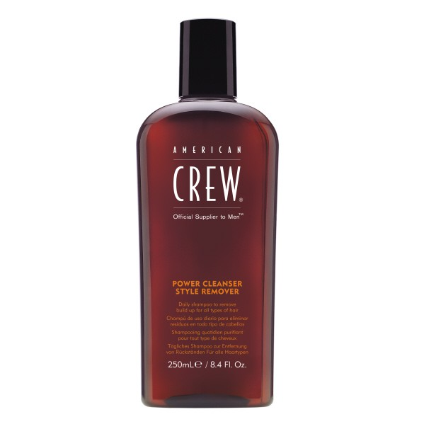 American Crew Power Cleanser Style Remover Shampoo, vorher Daily Shampoo (250ml)