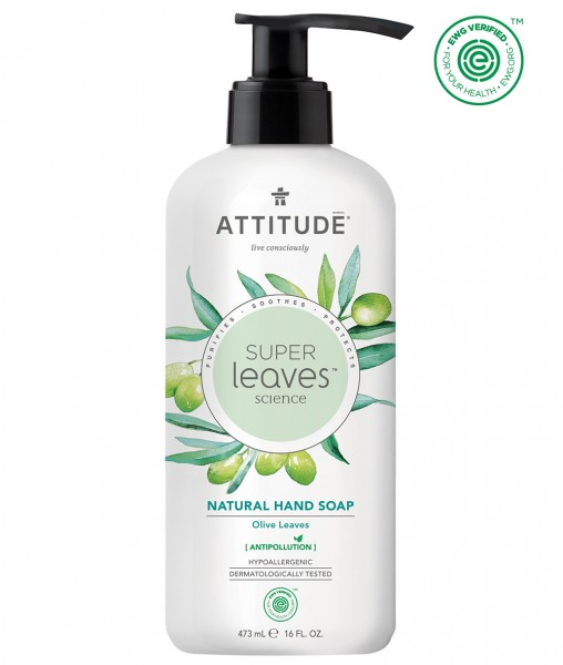 ATTITUDE Hand Soap - olive leaves 473ml