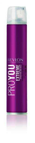 Revlon Pro You Extreme Structure and Hold Hairspray (500ml)