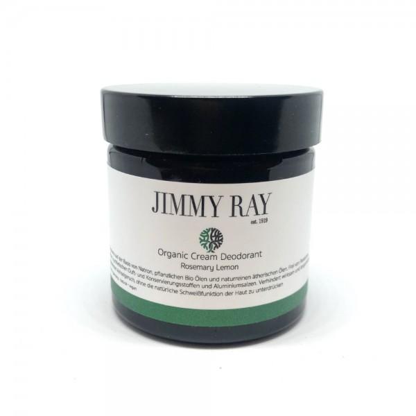 Organic Cream Deodorant Rosmary Lemon 75g