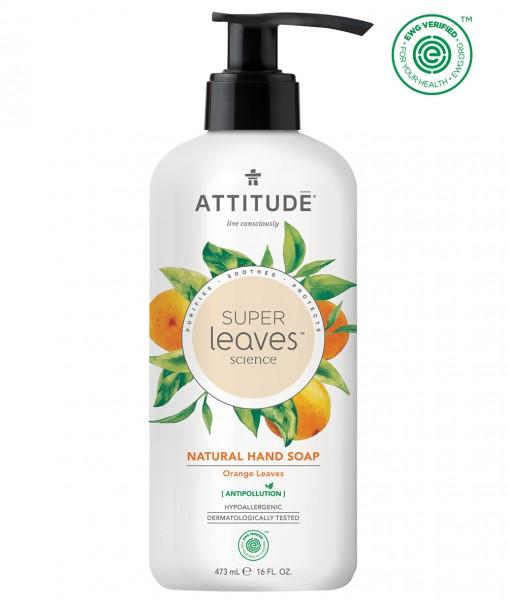 ATTITUDE Hand Soap - orange leaves 473ml