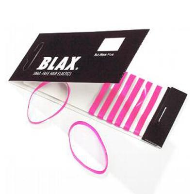 BLAX® hair elastics Haargummi 8 Stück Pink