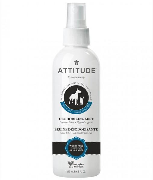 ATTITUDE Natural Pet Deodorising Mist Coconut-Lime 240ml