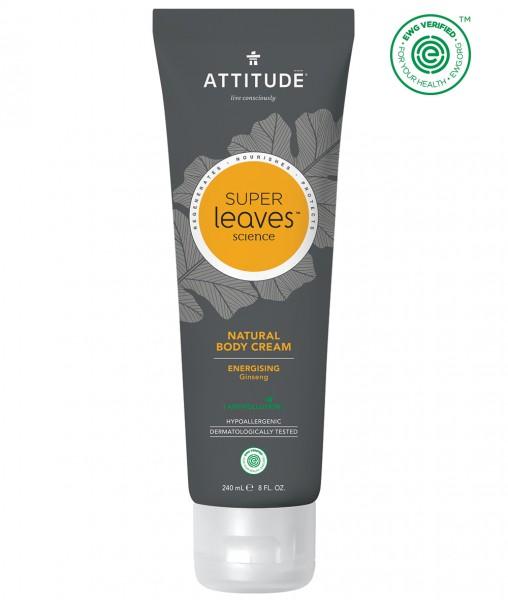 ATTITUDE MEN Body Cream - energizing ginseng 240ml