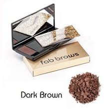Fab Brows Kit Augenbrauenset Dark Brown