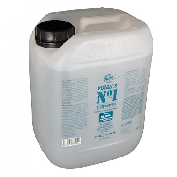 Polly's No1 Desinfektion Hygienespray auf Meersalzbasis 5 Liter