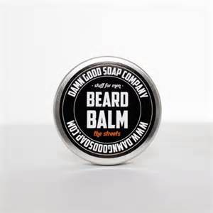 Damn Good Soap Company BEARD BALM the streets 50ml