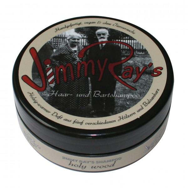 Jimmy Ray's Haar- und Bartshampoo – holzig-warmer Duft aus fünf Hölzern und Balsamharz 165 ml