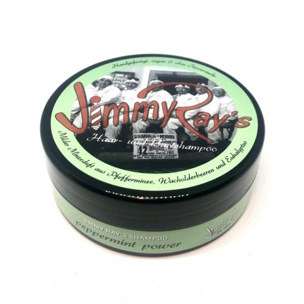 "Jimmy Ray's Haar- und Bartshampoo ""peppermint power"" 165 ml"