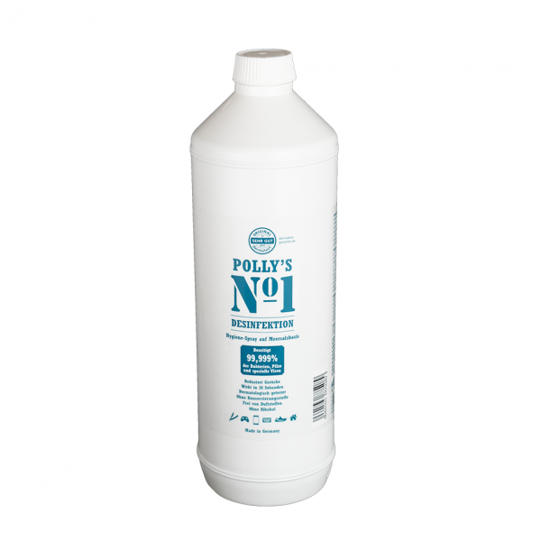 Polly's No1 Desinfektion Hygienespray auf Meersalzbasis 1 Liter