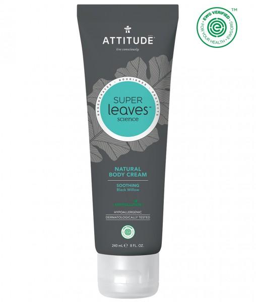 ATTITUDE MEN Body Cream - soothing black willow 240ml