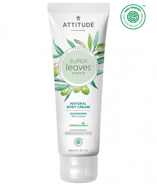 ATTITUDE Body Cream - nourishing olive leaves 240ml
