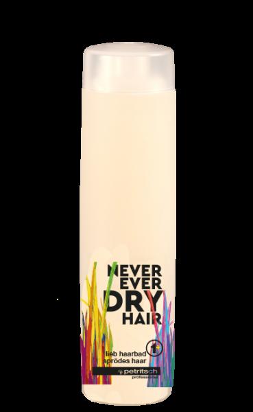 Never Ever Dry Hair lieb Haarbad 1+ für sprödes Haar 250ml