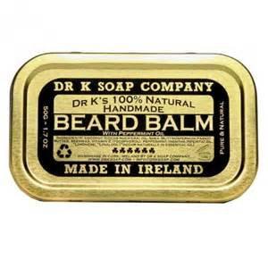 Dr K Soap Company: Beard Balm Peppermint 50g