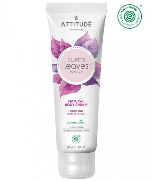 ATTITUDE Body Cream - soothing white tea leaves 240ml