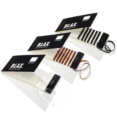 BLAX® hair elastics Haargummi 8 Stück Braun