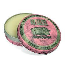 """Pink Reuzel"", SMALL Grease Heavy Hold Pomade , by Schorem 35g"