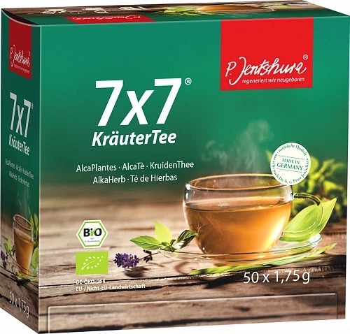 Jentschura 7x7 Teebeutel (50 Teebeutel à 1,75g)