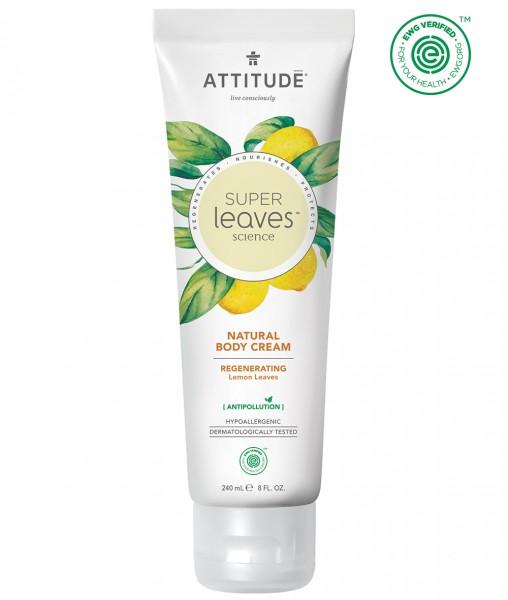 ATTITUDE Body Cream - regenerating lemon leaves 240ml