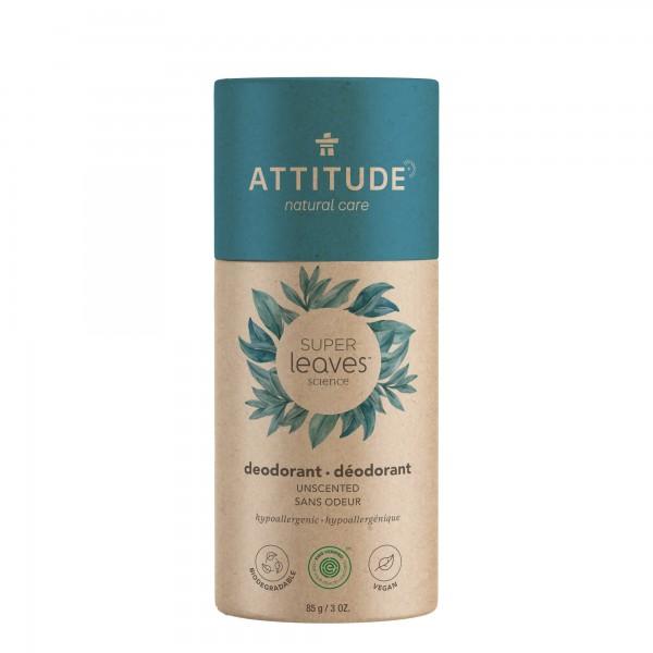 ATTITUDE Super Leaves Deodorant - Unscented 85g
