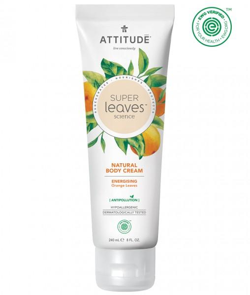 ATTITUDE Body Cream - energizing orange leaves 240ml