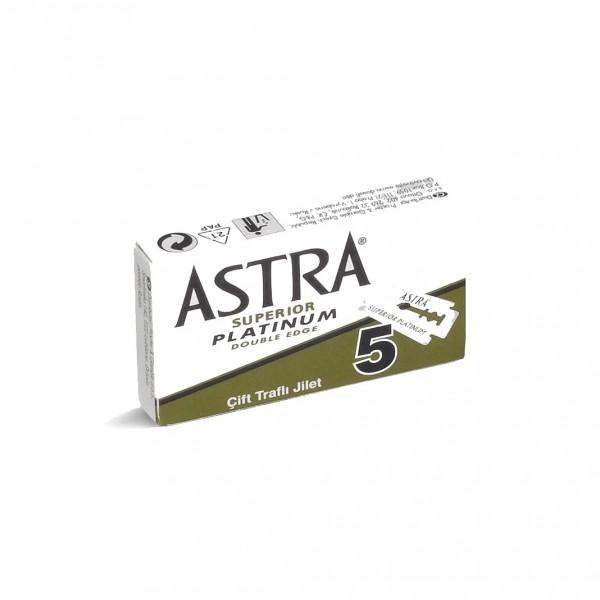 Rasierklingen    Razors by Astra im 5er Pack