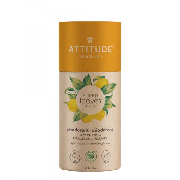 ATTITUDE Super Leaves Deodorant - lemon leaves 85g