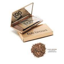 Fab Brows Kit Augenbrauenset Light Brown