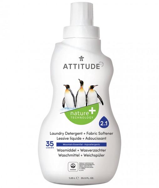 ATTITUDE Waschmittel/Weichspüler 2 in 1 1040 ml